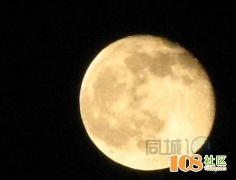 中国风月亮背景素材