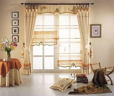 斜窗窗帘做法_大的落地窗户要如何选择窗帘呢?