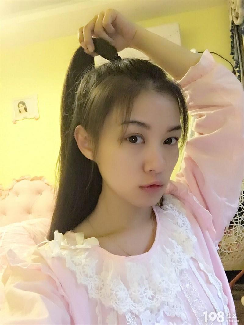 丸子社友徒手变刘海五分钟教你搞定半美女头美女吃蜂蜜的图图片