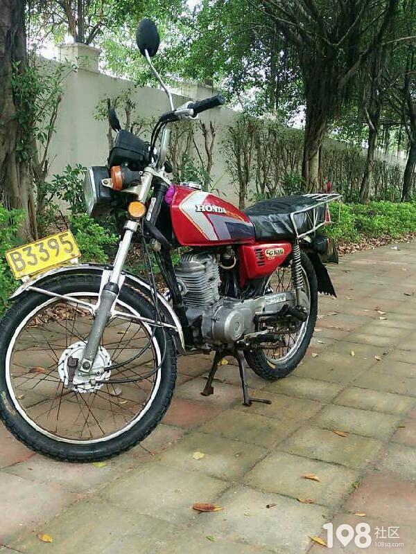 谁有这种本田cg125摩托车
