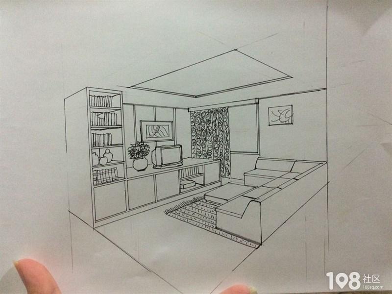 室内设计手绘培训中!