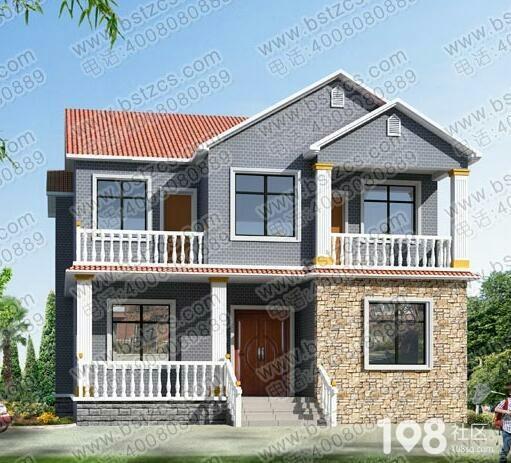 农村造房子求设计图