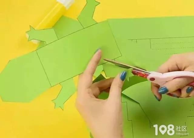 【动动小手】卡纸手工制作,和孩子一起玩吧!(附教程)