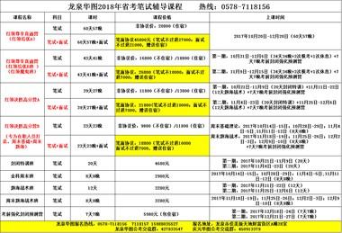 距离2018浙江省考笔试还有80多天,小伙伴们准备好了吗