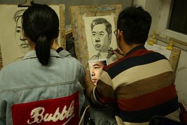 北京画室学习记,怀念那些在秋水画室学习的日子