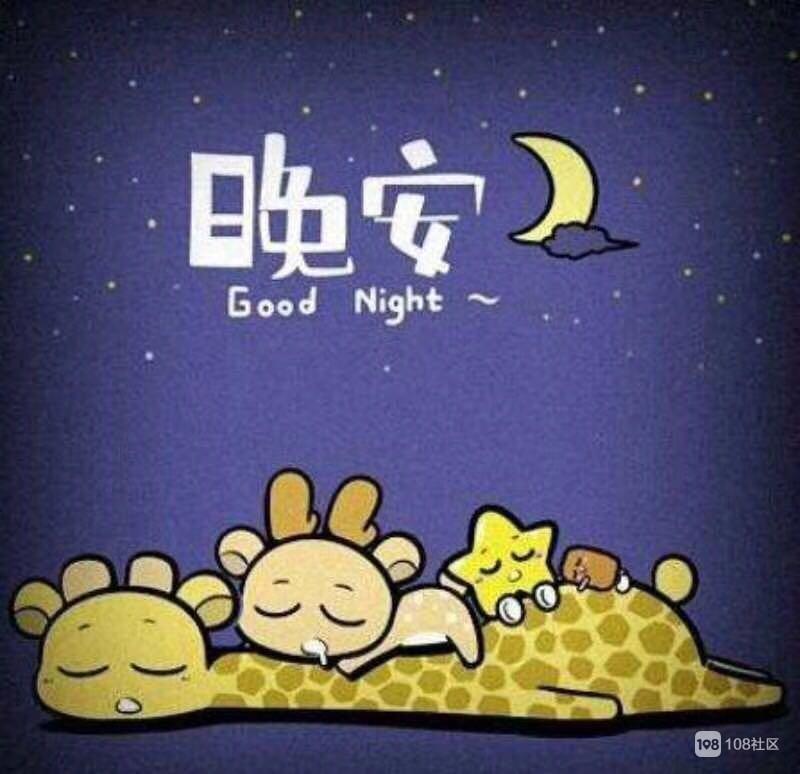 斗图晚安小可爱