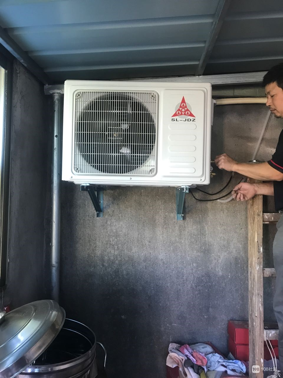 三菱长虹日松空调1850包安装