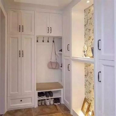 一套80平清新美式装修,从入门开始就给人带来愉悦...