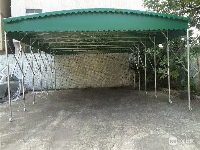 停车棚,车棚,推拉棚,活动棚,雨棚,遮阳棚,钢结构,景观棚,张拉膜篷布