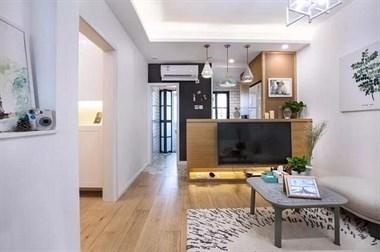 70北欧风2室2厅,小家也可以住着很舒服!