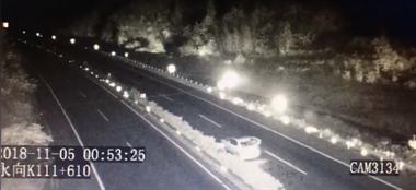 不是拍戏!凌晨浙江高速公路上,一女演员突然跳车后消失