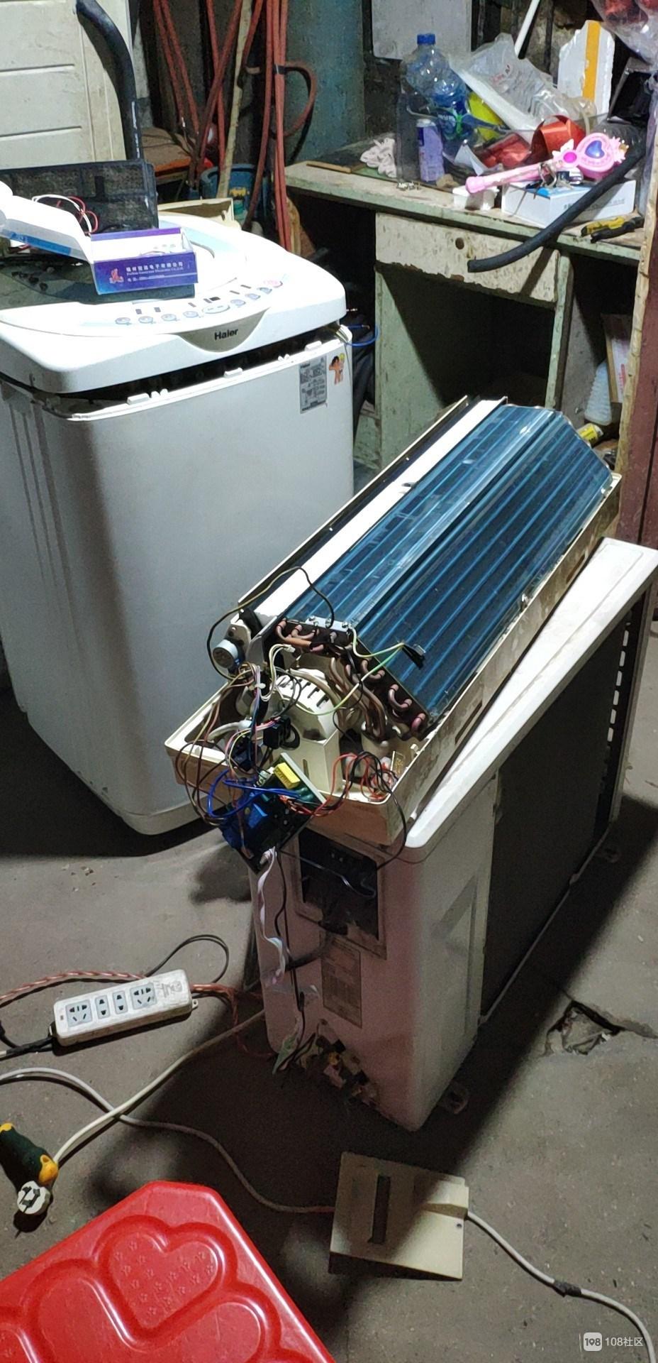 家电维仺e�9i-9�i_单安装挂机空拆装一台1几天,创新家电维师傅市快速维修.