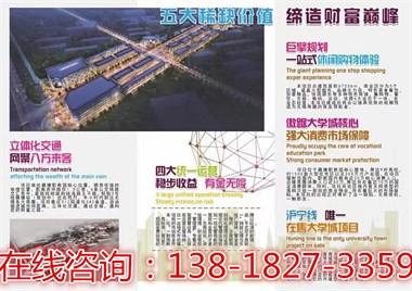 无锡惠山【青春假日】项目简介【投资价值分析】售楼处电