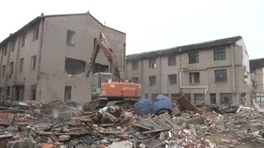 泽国拆老房建筑面积近9000㎡,多年堵头路即将打通!