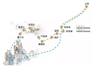 100元看遍大半个中国!这条修建4年的世界级高铁终于开通了,杭州到黄