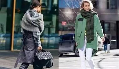 围巾的三种简单围法,出门既时尚又能帮你凹造型