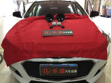 南京汽车音响改装 徐州乐道科鲁兹改装伊顿pow170.2