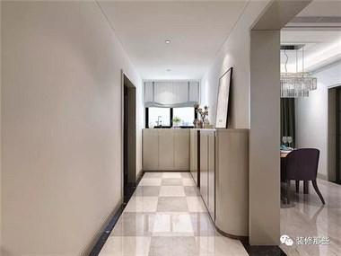 142平米的四居室装修半包只花了6万,现代风格让人眼前一亮