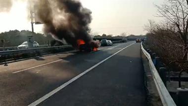 惊心动魄!湖州高速6车追尾,燃起了熊熊大火…